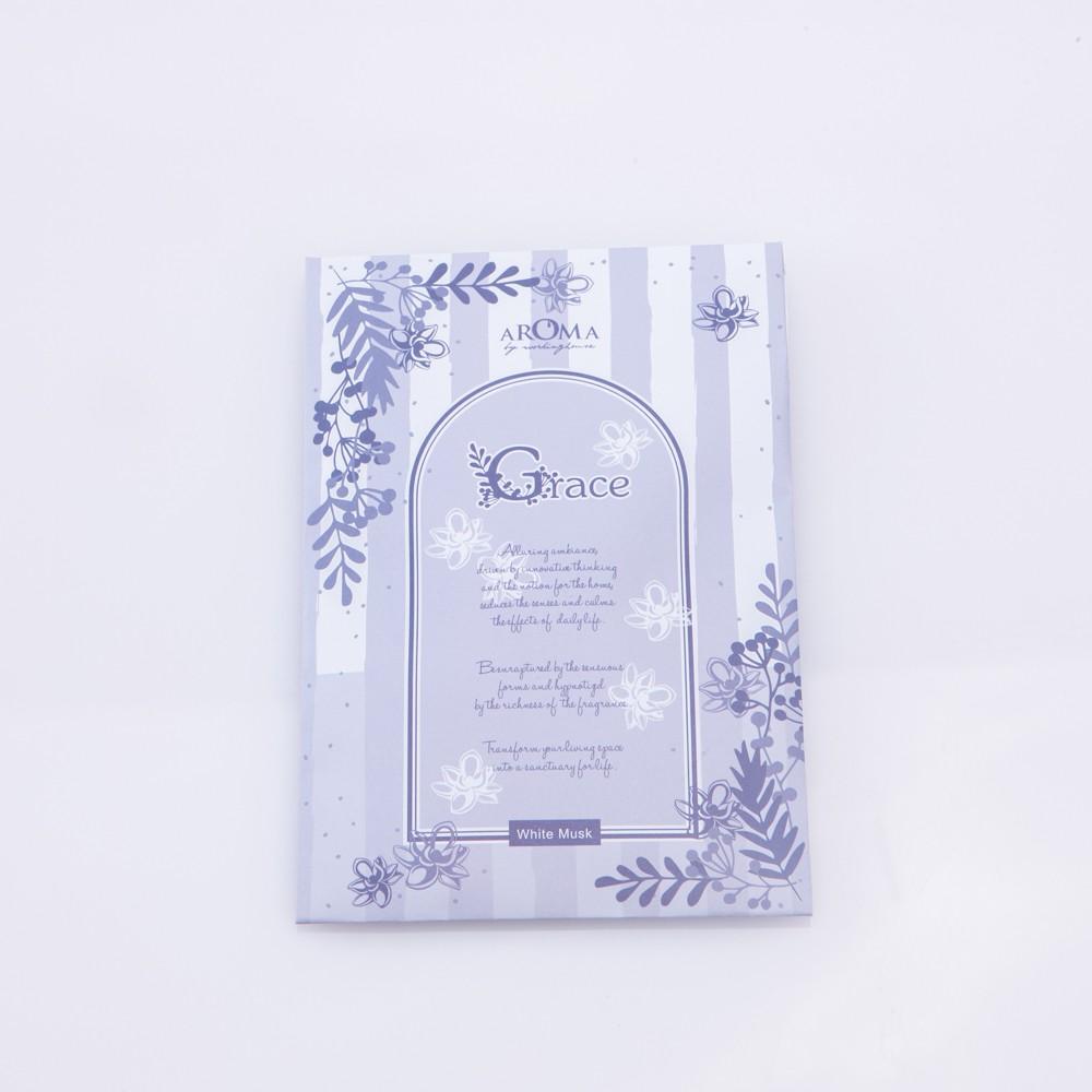 【生活工場】Grace白麝香香氛包2入組