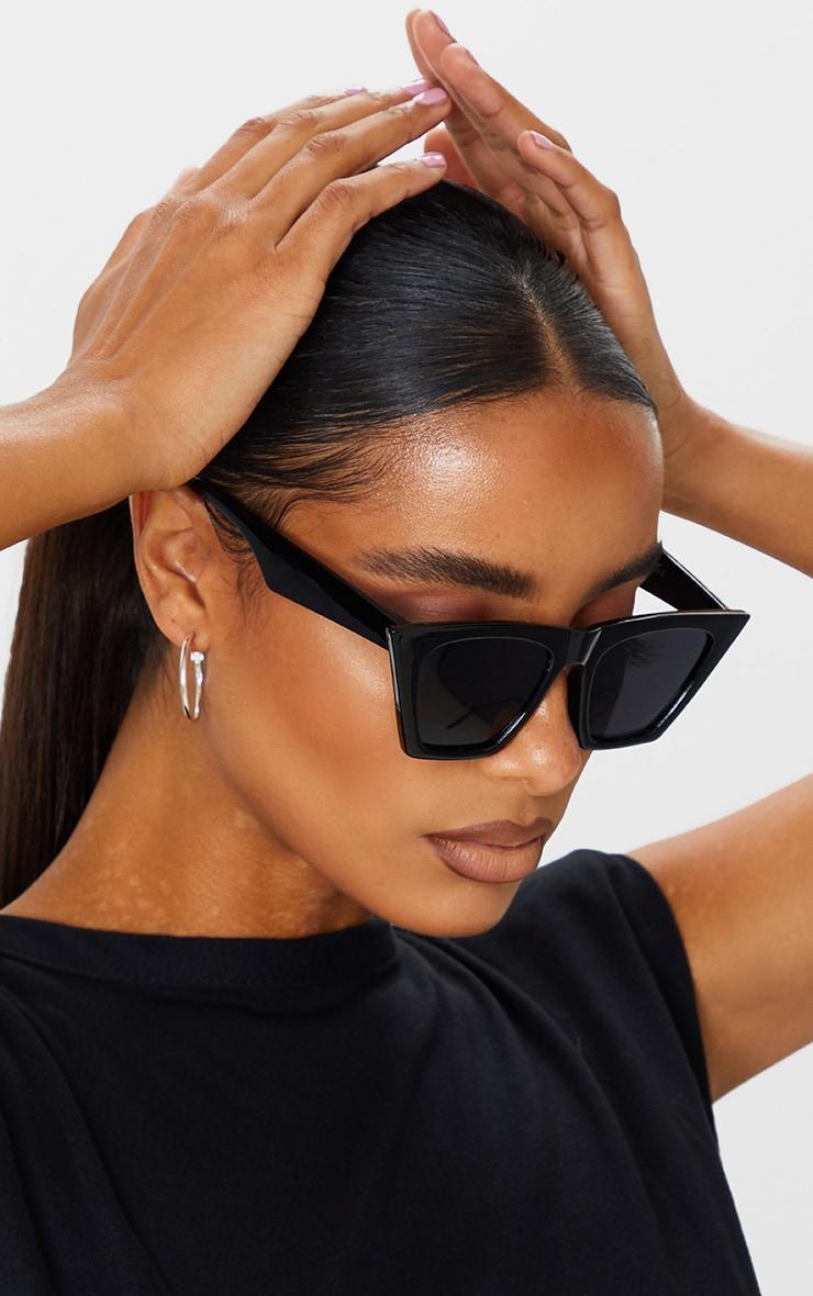 Black Triangle Sunglasses