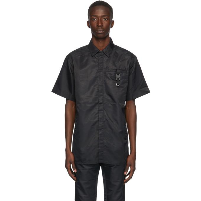 1017 ALYX 9SM 黑色插扣短袖衬衫