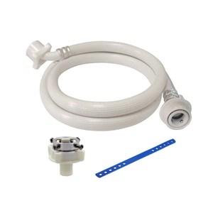 特力屋快接型洗衣機進水管-2m(附彈性束帶)