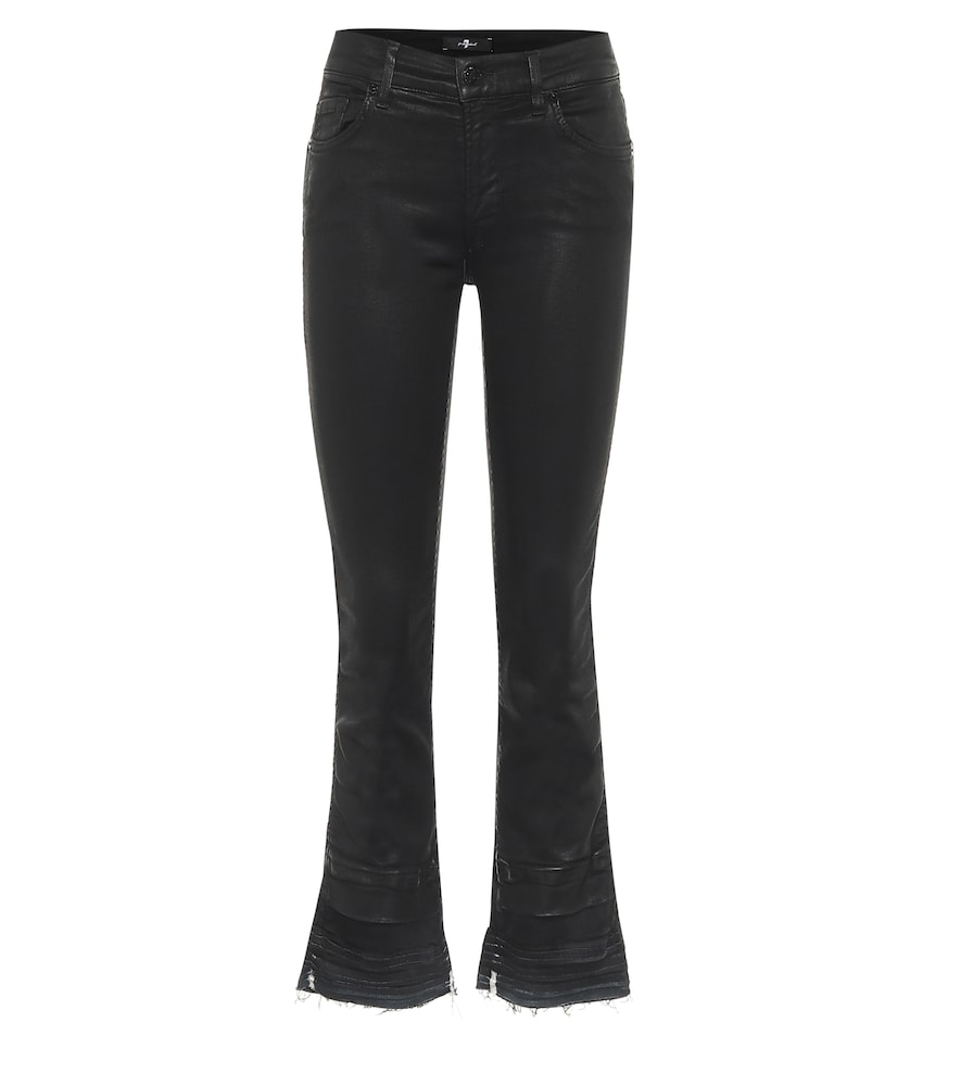 Slim Illusion high-rise cropped jeans