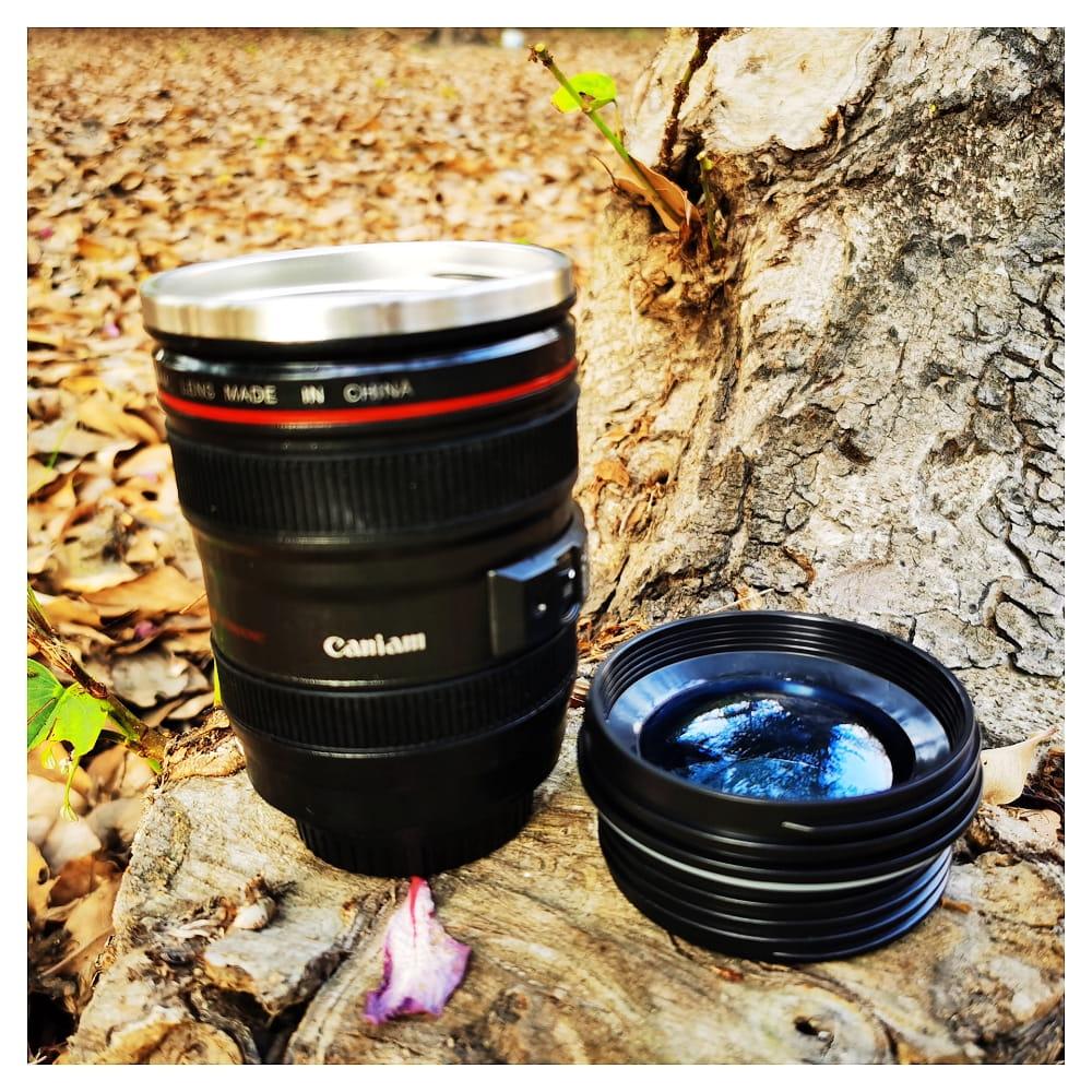 單眼相機鏡頭杯 新款附杯蓋