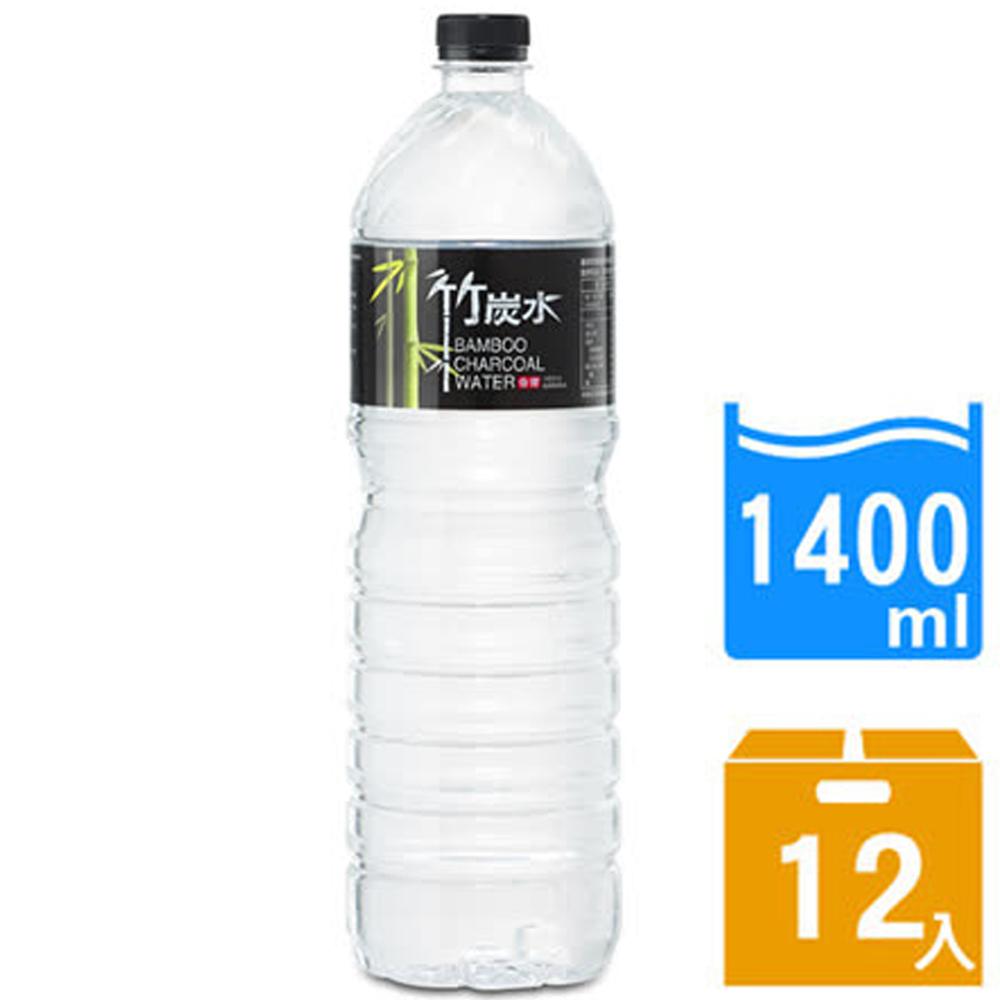 免運 【奇寶】竹炭水1400ml(12瓶x2箱)