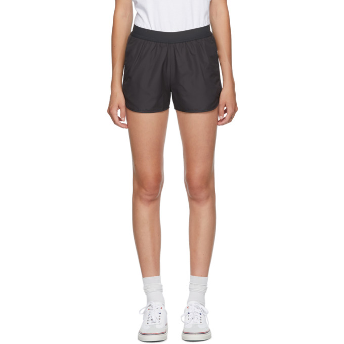 Thom Browne 灰色 4-Bar Running 短裤