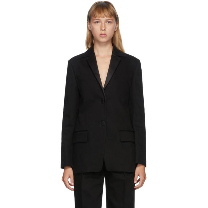 Alexander Wang 黑色单排扣晚装西装外套
