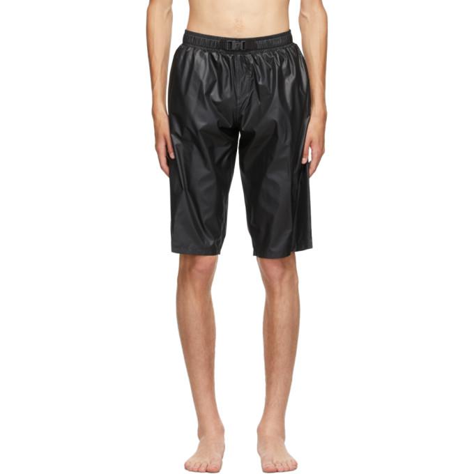 Fendi 黑色 Surf 束带短裤