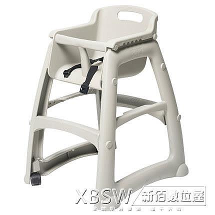 肯德基兒童餐椅家用嬰兒餵飯椅酒店餐廳靠背座椅吃飯餐椅CY『新佰數位屋』