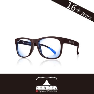 瑞士 SHADEZ 太陽眼鏡 【抗藍光-摩卡咖 SHZ-121】16+歲