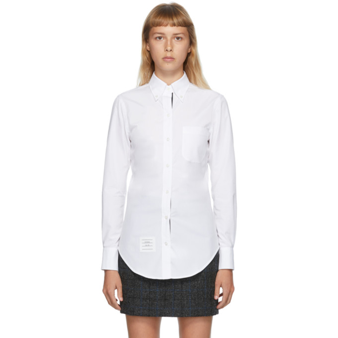 Thom Browne 白色 Classic 衬衫