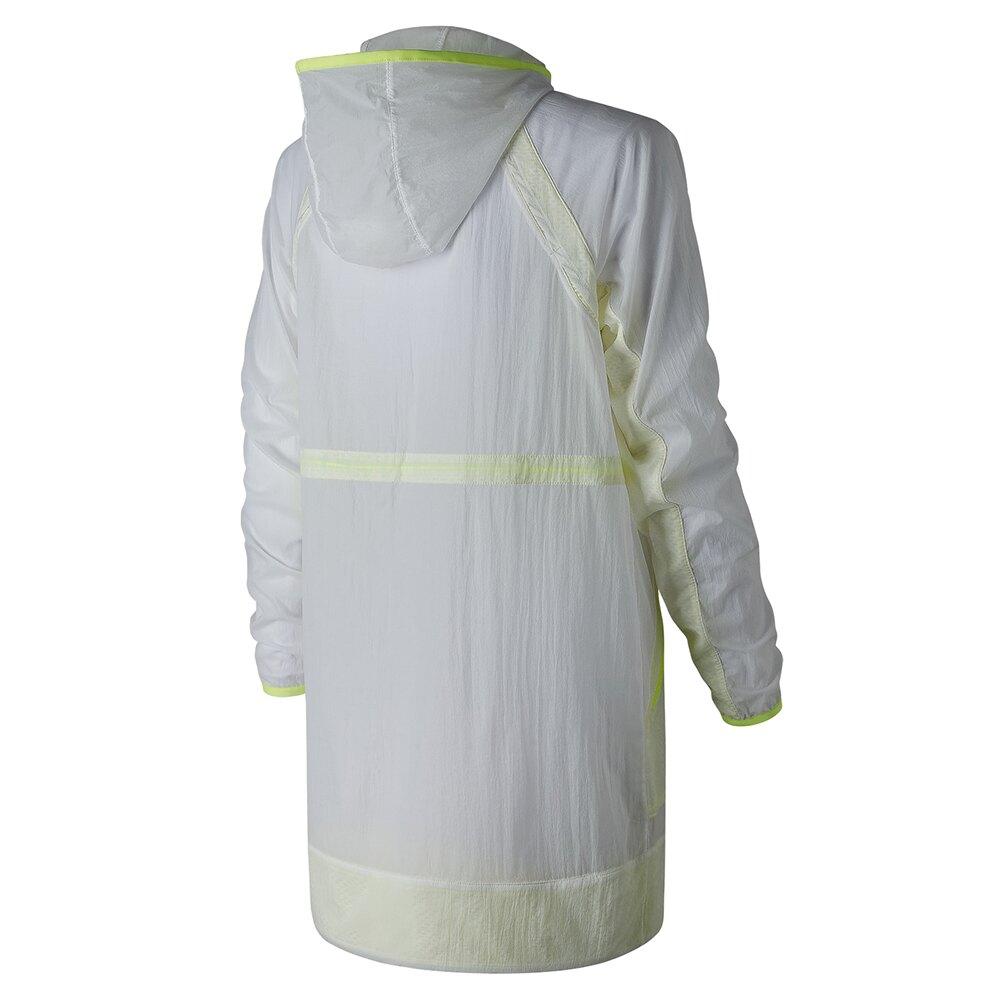 【領券最高折$400】New Balance 女裝 外套 休閒 防風 防潑水 透氣 拉鍊口袋 透明 白【運動世界】WJ81120WT