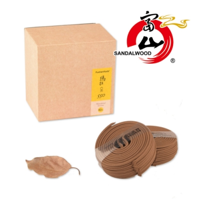 富山檀香 買一送一 瑪拉OK550 3.5H微盤40片 精裝盒 拜拜香 沉檀香木 貢佛禮佛