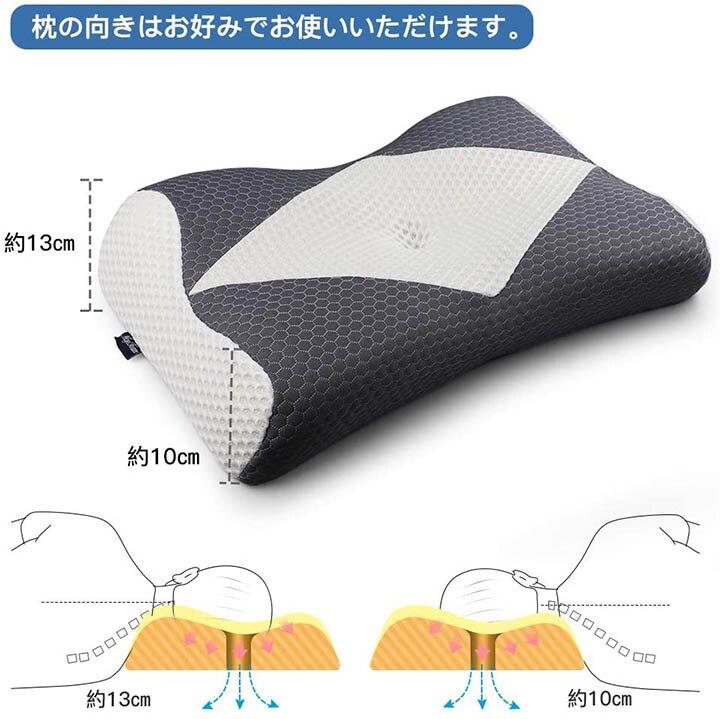 MyeFoam【日本代購】記憶乳膠枕 快眠枕 人體工學 健康枕頭 側傾支撐