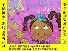 二手書博民逛書店英文原版罕見少兒繪本 Clara the Cookie Fair