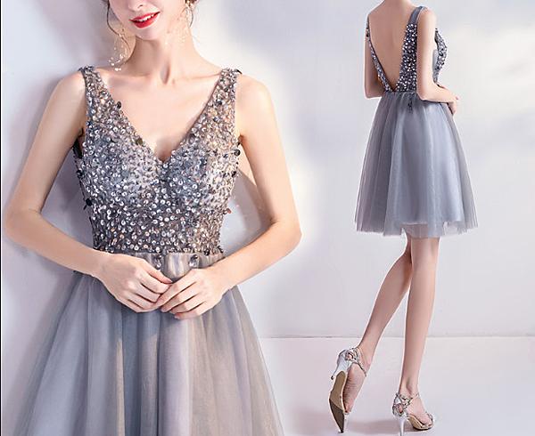 (45 Design全新零碼特賣) 洋裝 短禮服 背心裙  連身裙 小禮服 連衣裙 伴娘服 媽媽裝11