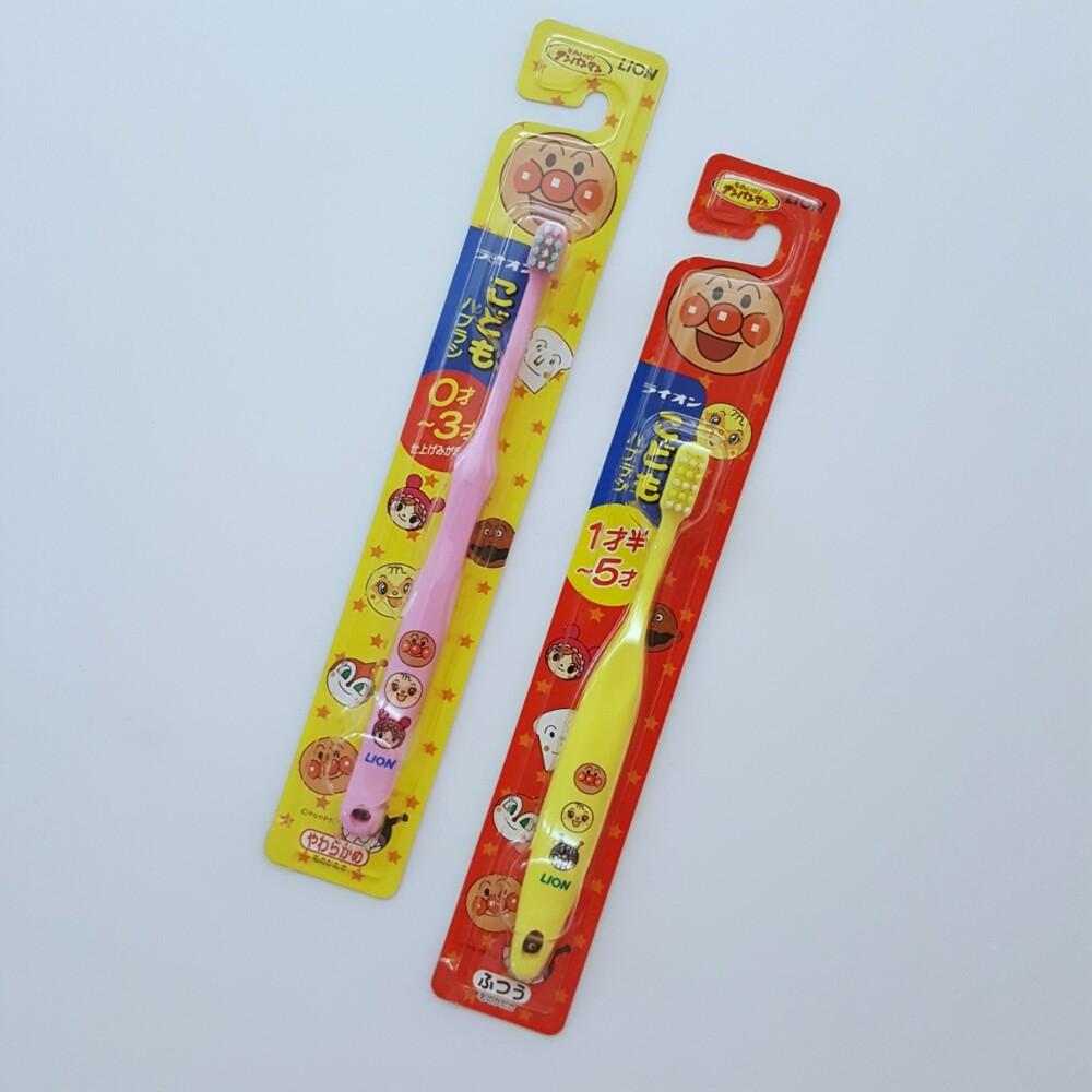 日本獅王lion兒童牙刷 1歲~5歲/3歲/6歲~12歲 七龍珠 麵包超人