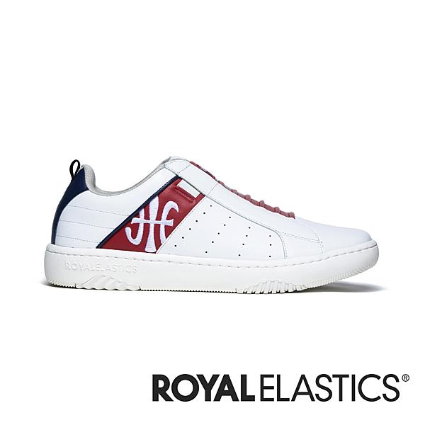 ICON2.0 白紅真皮潮流運動休閒鞋 (女) 96501-015