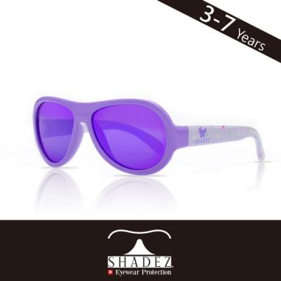 瑞士 SHADEZ 兒童太陽眼鏡 【圖騰設計款-漾紫蝴蝶 SHZ-50】3 - 7歲