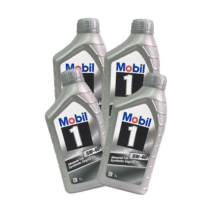 MOBIL美孚FS X2 5W40全合成機油(4罐/箱)