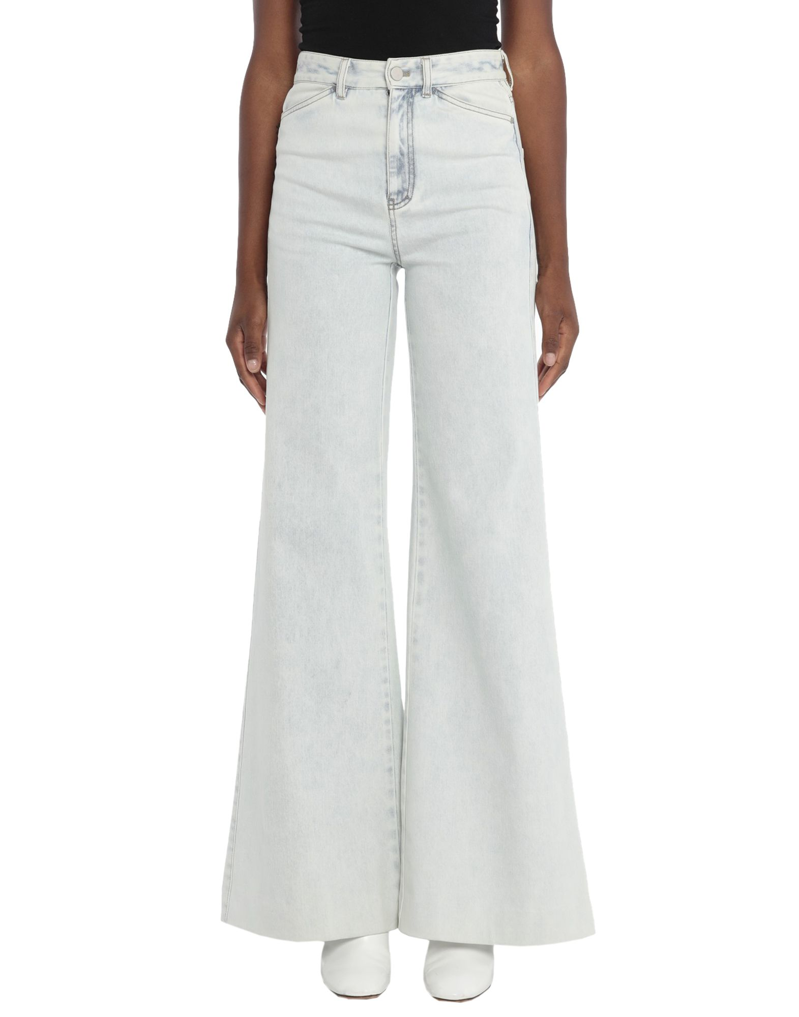 DOROTHEE SCHUMACHER Denim pants - Item 42806786