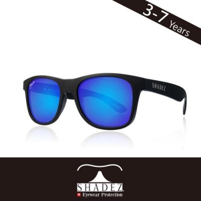 瑞士 SHADEZ 兒童太陽眼鏡 【偏光-黑框湛藍 SHZ-402】3 - 7歲