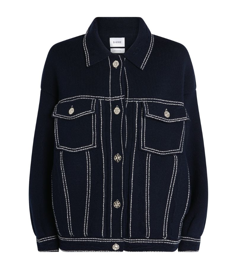 Barrie Contrast Stitch Jacket