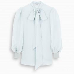 Givenchy Light-blue silk shirt