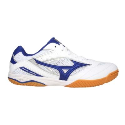 MIZUNO 男桌球鞋-訓練 美津濃 乒乓 運動 81GA170520 白藍