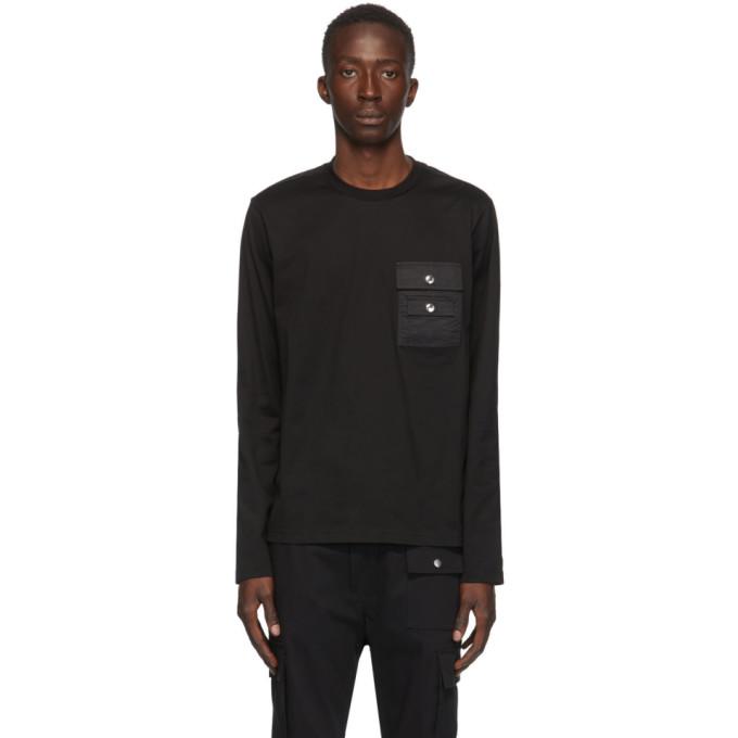 Diesel 黑色 Task 长袖 T 恤