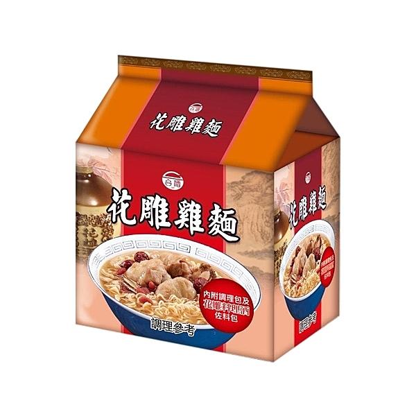 台灣菸酒 花雕雞麵(200gx3包/袋裝)【小三美日】