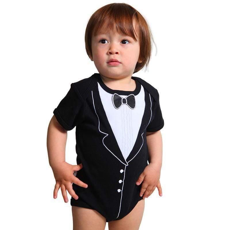 男嬰連身衣 - 李傲納多(短袖) 3-6個月