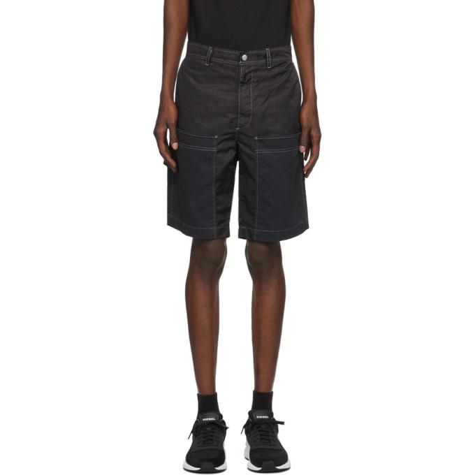 Diesel 黑色 P-Trent 短裤