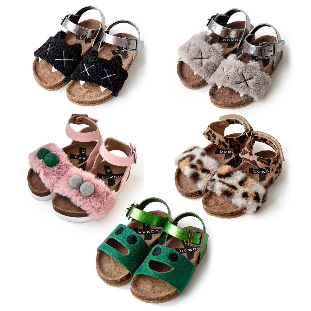 法國 BOXBO 涼鞋 (小童\大童) 多款可選