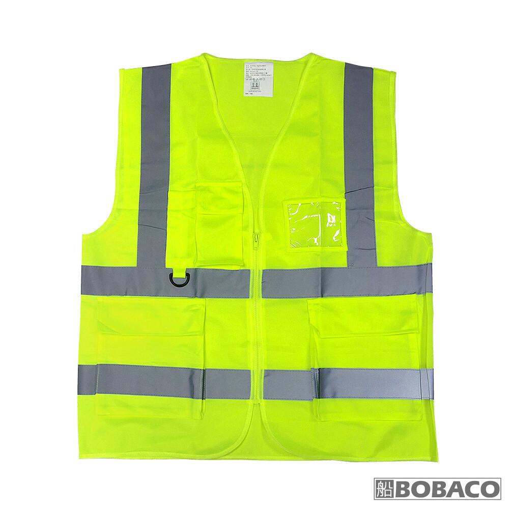 安全防護反光背心布質反光安全服 施工防護 交通安全 警示背心 螢光衣 施工背心 警用背心