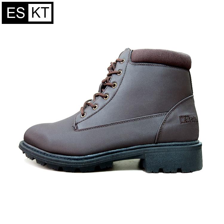 ESKT 男短筒雪鞋SN210 / 城市綠洲 (雪靴、防潑水、刷毛、冰爪)