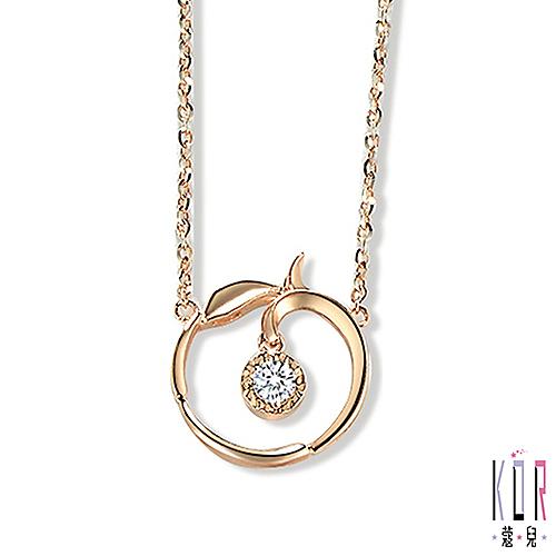 K'OR蔻兒 時尚嚮宴鑽石/玫瑰金項鍊