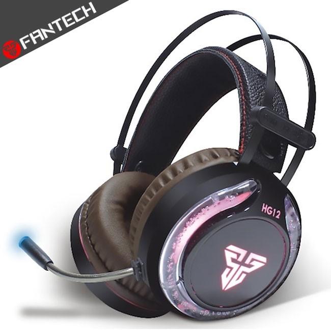 fantech hg12多彩燈效耳罩式電競耳機