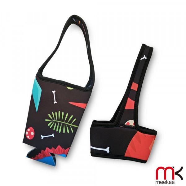 meekee 潛水布環保手提杯套 (全罩+半罩2入套組)