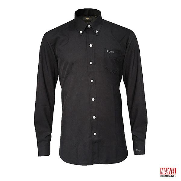 MARVEL漫威服飾 史塔克鋼鐵人設計 腰身 商務襯衫 長袖襯衫上衣 [M20131601]
