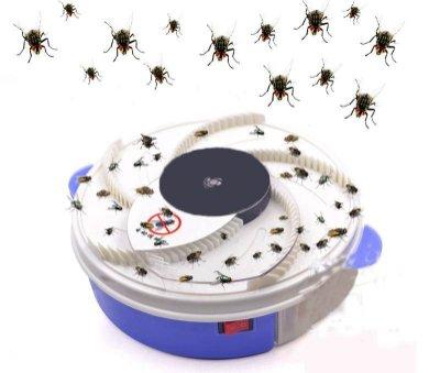 家用無線捕蠅器 滅蒼蠅神器電動捕蠅器插電充電兩用 滅蠅器餐廳飯店靜音抓捉蒼蠅抖音充電USB