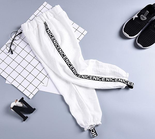 男童防蚊褲夏季特薄款棉麻款兒童棉綢寶寶冰絲薄褲超薄燈籠褲子潮