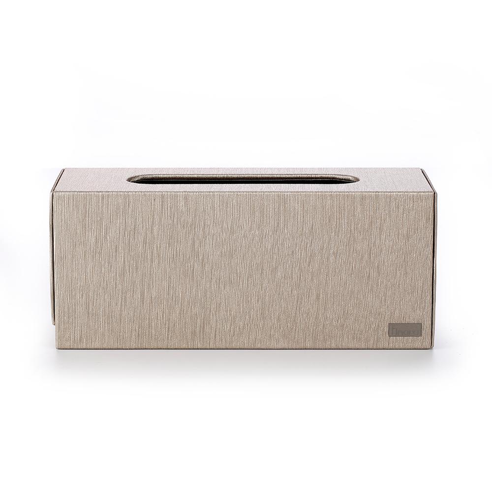 【Finara 費納拉】玫瑰金雅頓-桌上型擦手紙巾專用盒