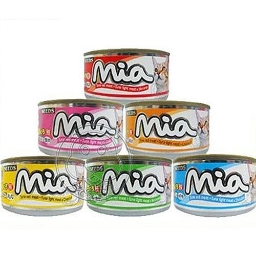 【培菓幸福寵物專營店】聖萊西Seeds》Mia咪亞機能餐罐系列貓罐-160g(超取限28瓶)