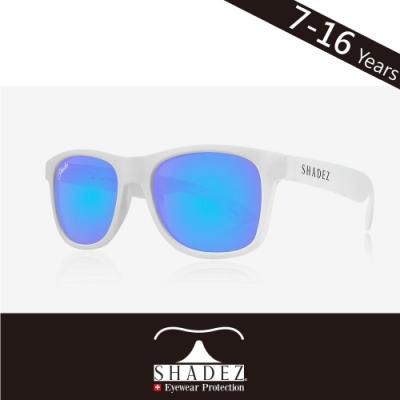 瑞士 SHADEZ 兒童太陽眼鏡 【偏光-透明框湛藍成人SHZ-419】7 - 16歲