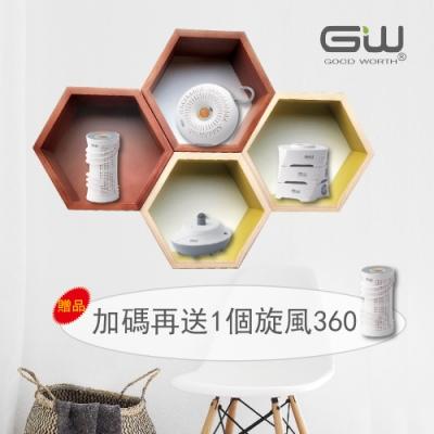 GW 水玻璃 分離式除濕機綜合組 含還原座 加贈旋風360