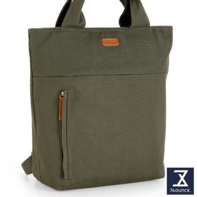 74盎司 Canvas帆布後背包[LG-910-CA-W]軍綠