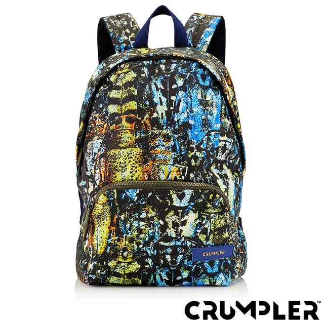 Crumpler 小野人 CONTENT 康坦雙肩後背包(M) 潑墨 公司貨
