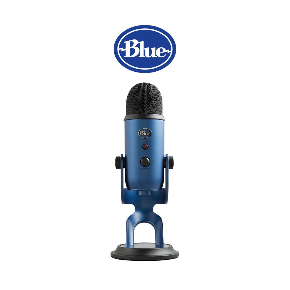 ◆快速到貨◆美國Blue Yeti 雪怪 USB麥克風 (午夜藍)