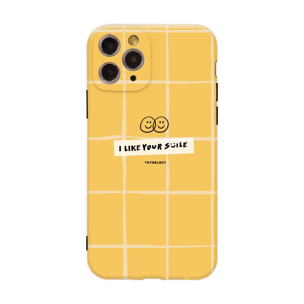 【獨家設計】Smilie微笑格紋小時光抗污iPhone手機殼