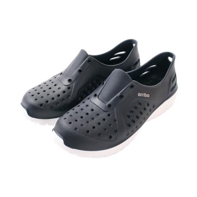 魔法Baby男鞋 台灣製輕量舒適休閒洞洞鞋sd7249