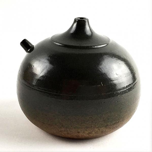【中華筆莊】硯滴(大) 9.5x9.5x7.5cm ─ 大地 - 手工陶藝品 款款獨特 - 台灣品牌